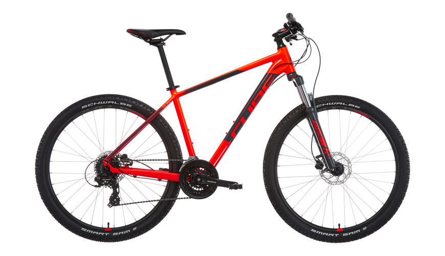 Cube Aim Pro MTB Hardtail orange/svart